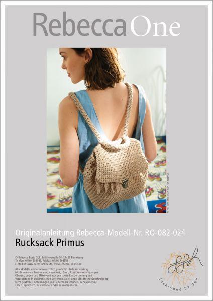 Anleitung - Rucksack Primus